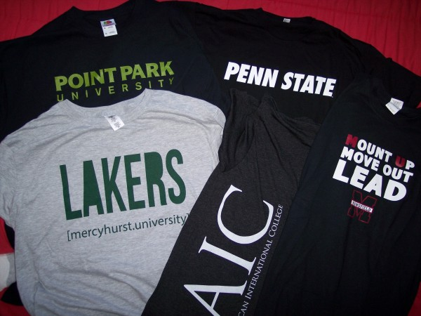 College T-Shirts and Gear