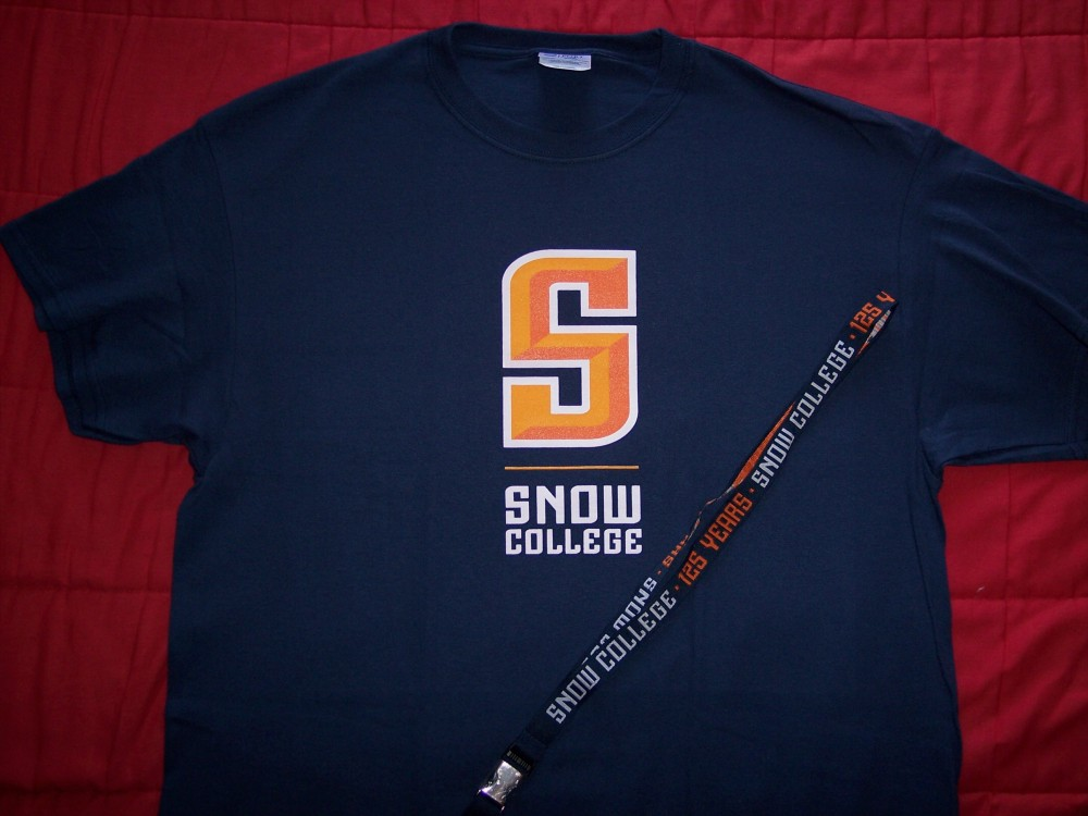 Snow College t-shirt